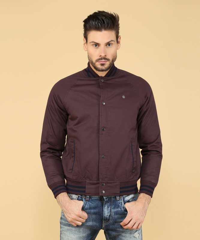 Peter England Full Sleeve Solid Mens Jacket