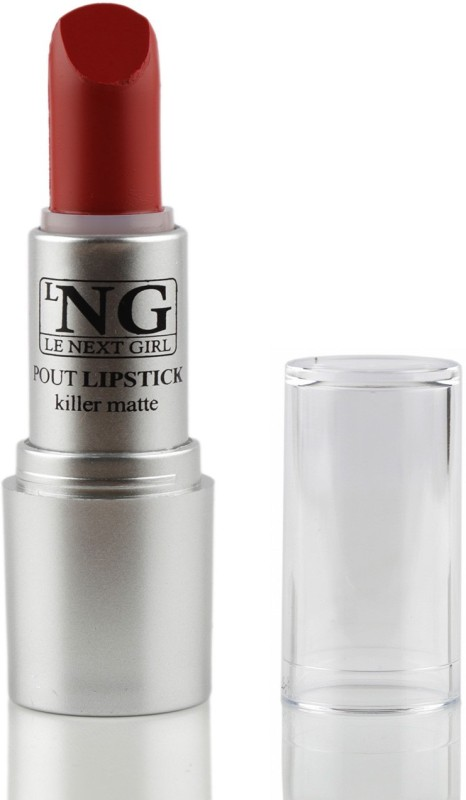 LNG Pout Lipstick Killer Matte, Mascow Red, 3.5G(Mascow Red, 3.5 g)