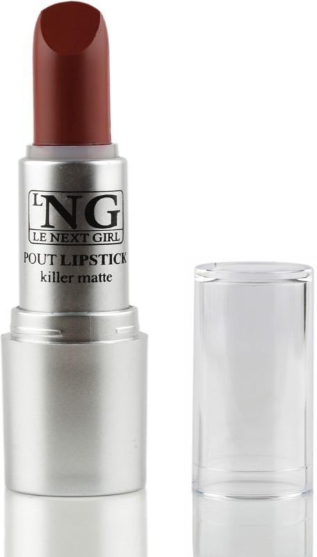 LNG Pout Lipstick Killer Matte, Fire Red, 3.5G(Fire Red, 3.5 g)