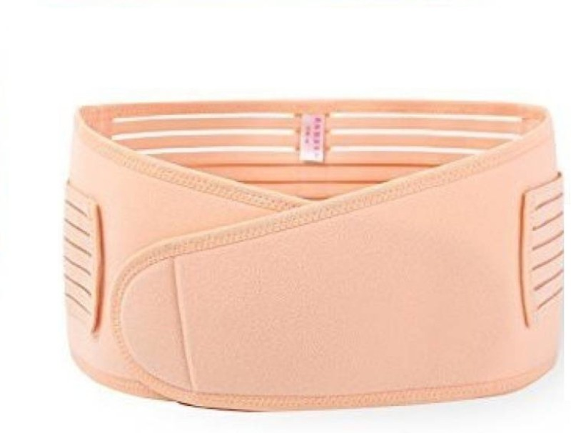 NUCARTURE Women's maternity support Back & Abdomen Support -Pregnancy Postpartum Belly Shapewear Corset Belt .(SKIN COLOR)
