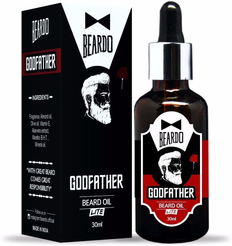 Beardo GODFATHER Beard Lite Hair Oil(30 ml)
