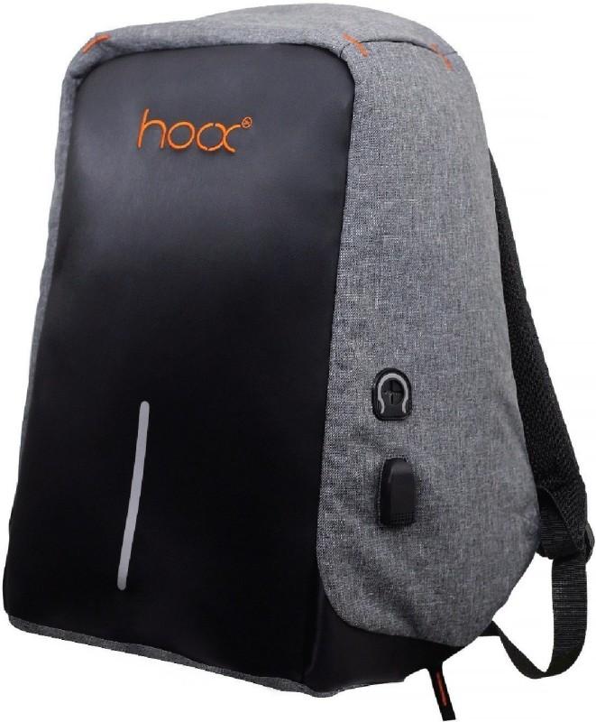 hoox 16 inch Laptop Backpack(Grey)