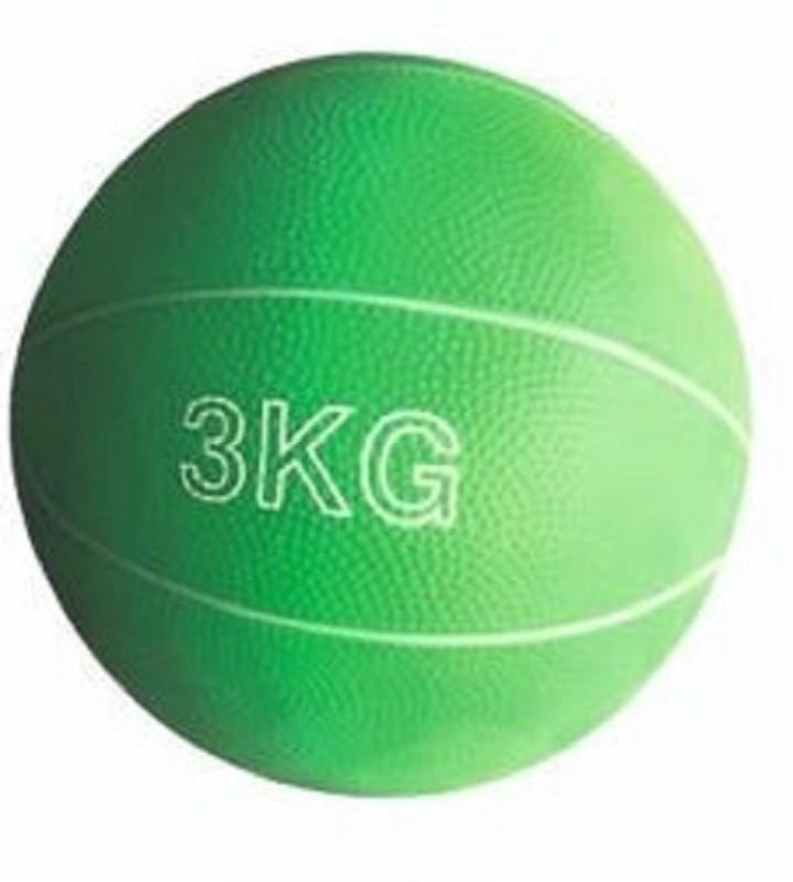 Arnav Rubber Medicine Ball Exercise Soft, No Bounce Yoga Cross Fit Training Fitness Medicine Ball(Weight:  3 kg, Multicolor)