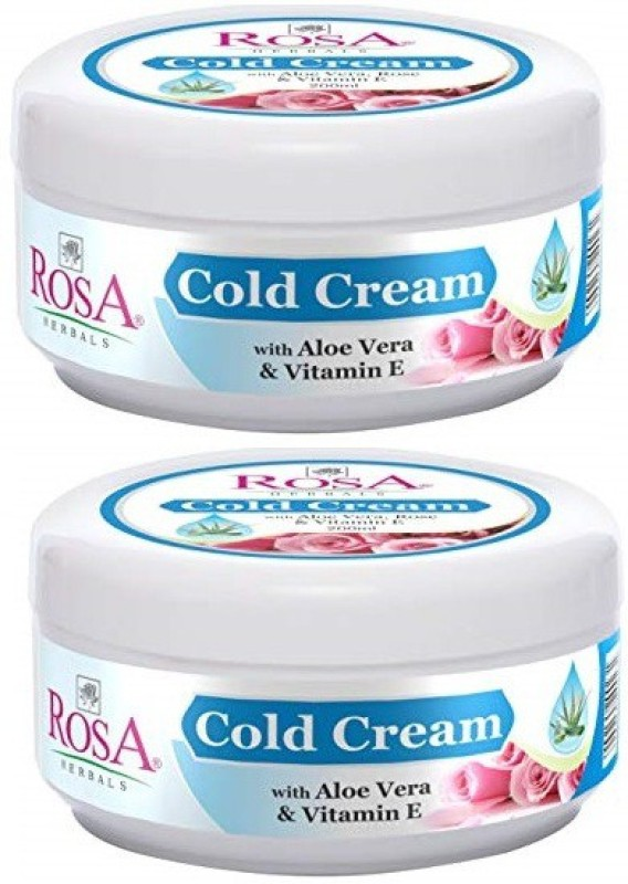 rosa Cold Cream (pack of 2)(400 ml)