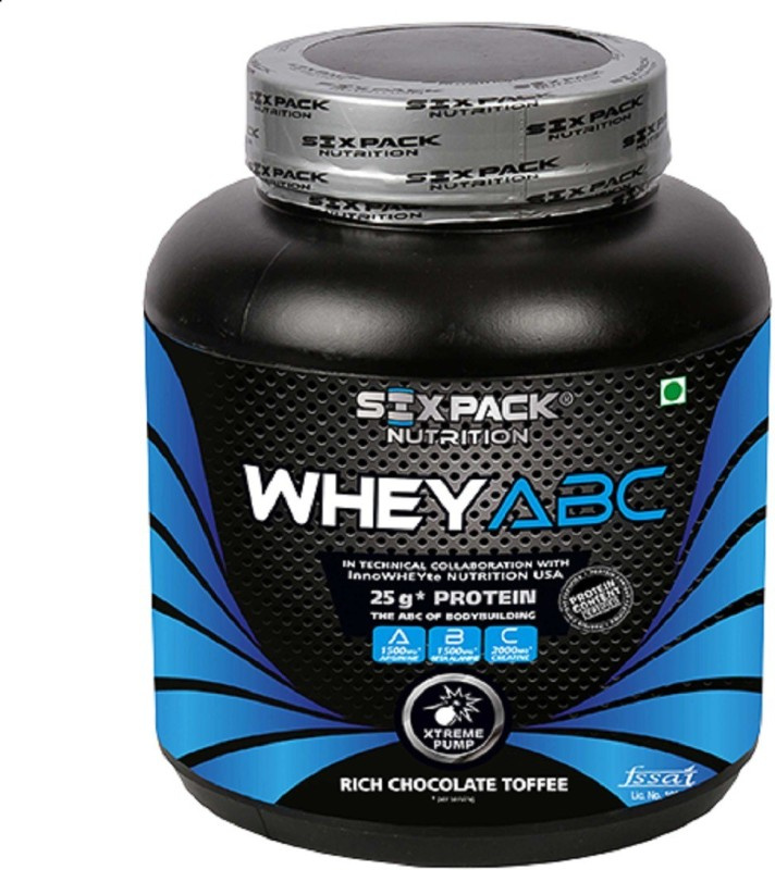 SIX PACK NUTRITION Whey ABC Whey Protein(2 kg, Rich Chocolate Toffee)