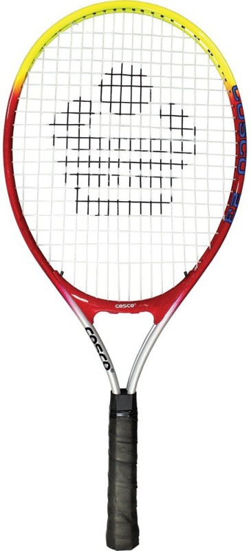 Cosco Drive 23 Multicolor Strung Tennis Racquet(Pack of: 1, 245 g)