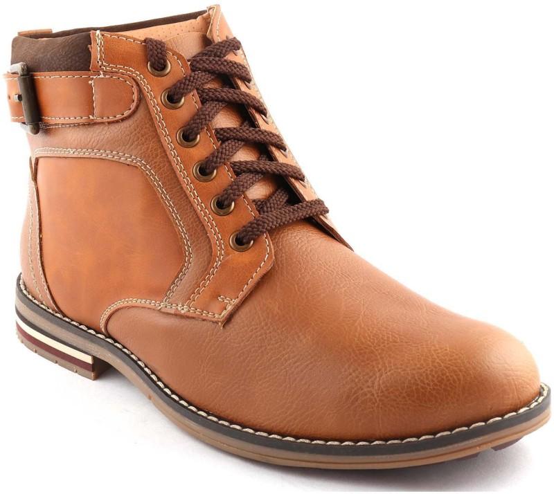 San Frissco Boots For Men(Tan)