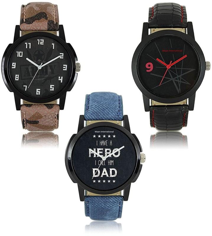 14 Feb Fashion Store Regular Analogue Combo Watch - For Men