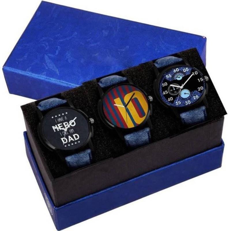 14 Feb Fashion Store Stylish Combo Watch - For Men