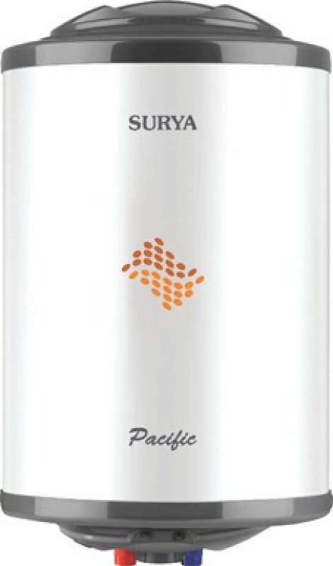 Surya 25 L Storage Water Geyser (Pacific 25 L, White, Black)