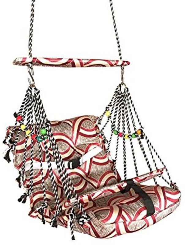 sajani Cotton Swing Jhula For KIds And Adults(Multicolor)