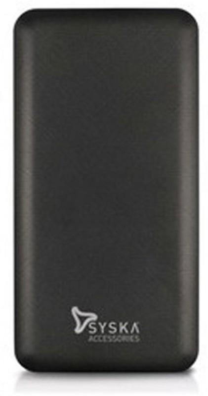 Syska 10000 Power Bank (Power Pro 100, Power Pro 100)(Black, Lithium Polymer)