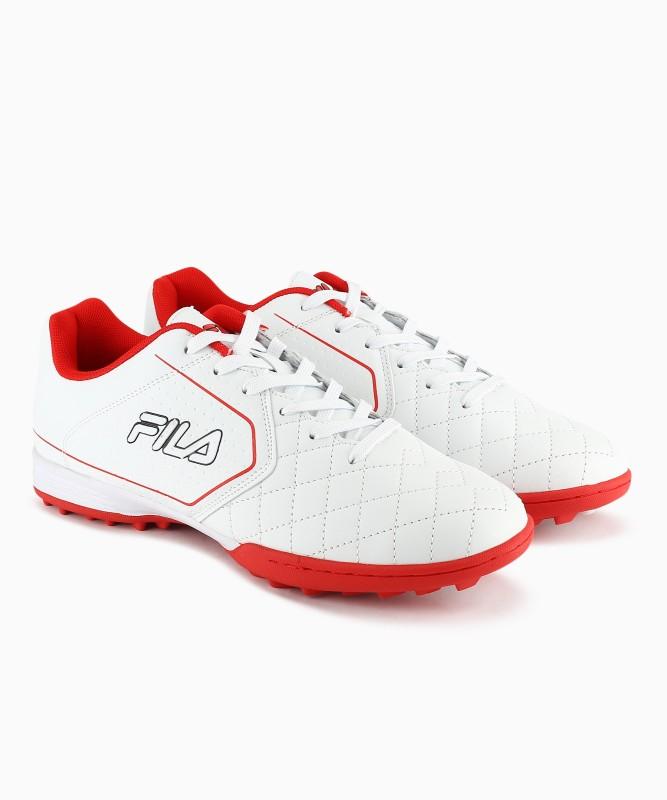 Fila Football Shoes For Men(Red, White)