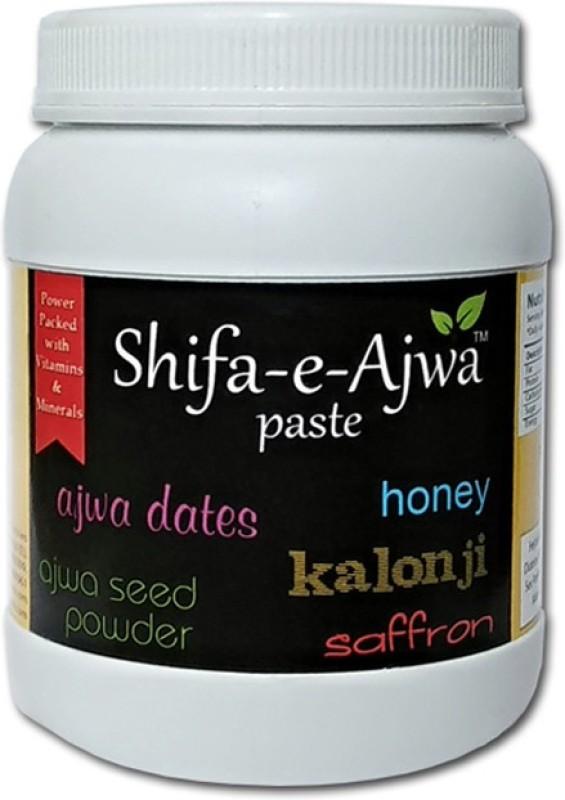 shifa-e-ajwa Paste of Ajwa Dates, Kalonji, Ajwa Seed Powder, Honey & Saffron(200 g)