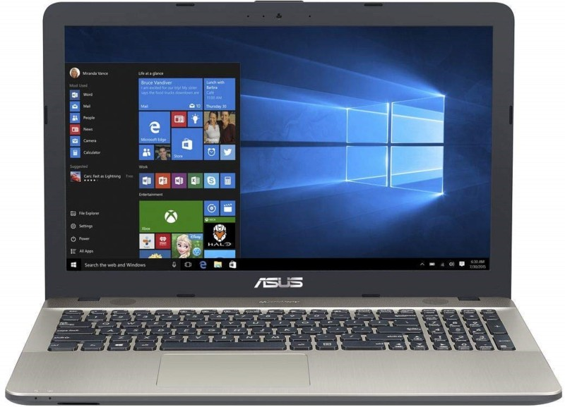 Asus Asus X Celeron Dual Core 7th Gen - (4 GB/1 TB HDD/Windows 10) F541NA-GO653T Laptop(15.6 inch, Silver)