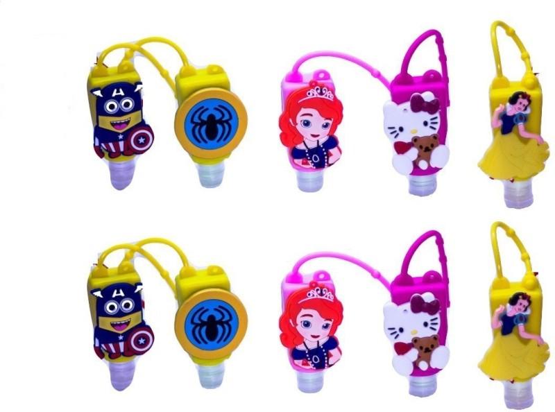 Shopkooky Cute Hand Sanitisers / Return, Birthday Gifts Online Set - Pump Dispenser(12 x 4.17 ml)