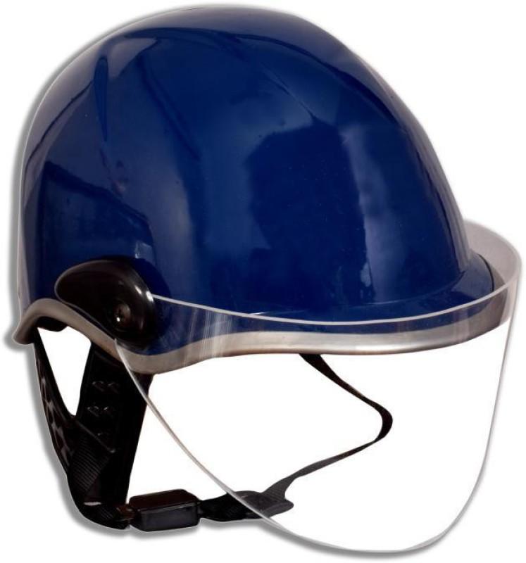 MOTOFLY unisex open face motorbike helmet (size-l, blue) Motorbike Helmet(Blue)