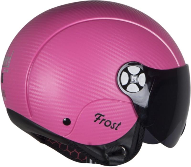 Steelbird HI-GN SBH-16 Frost Dashing Motorsports Helmet(Pink)