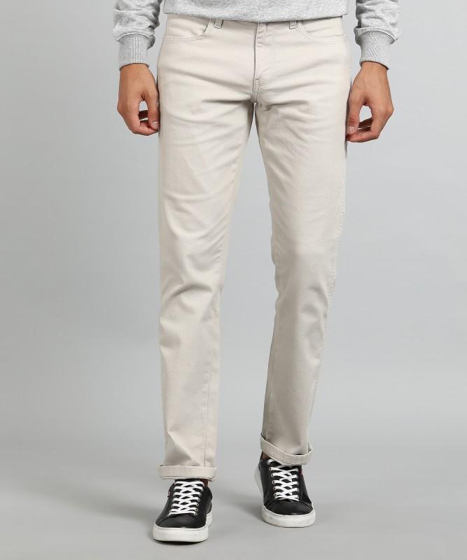 Wrangler Slim Mens Beige Jeans