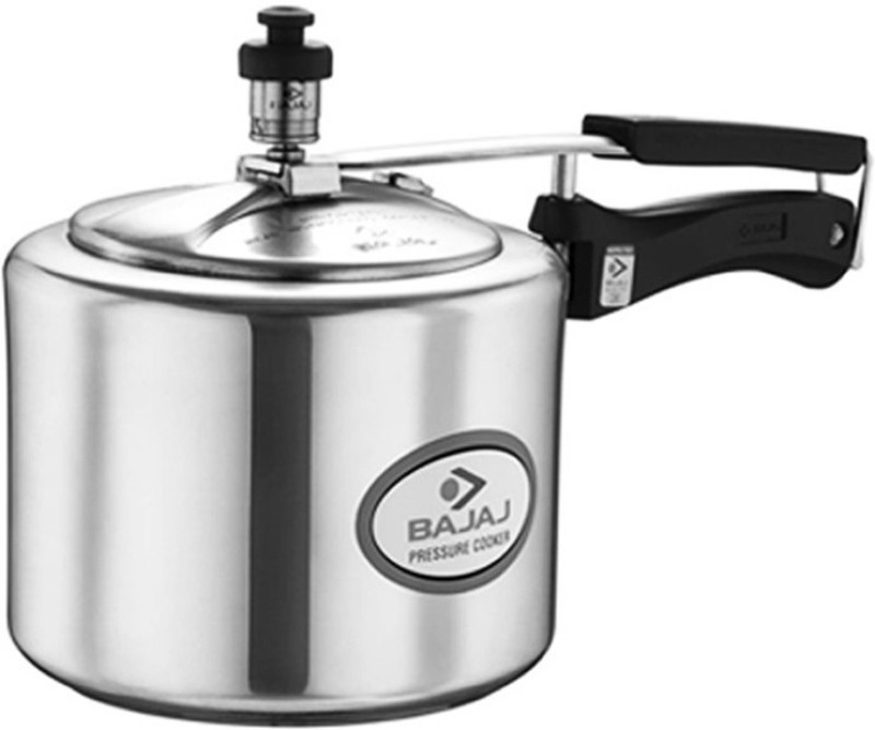 Bajaj PCX 45 5 Pressure Cooker with Induction Bottom(Aluminium)