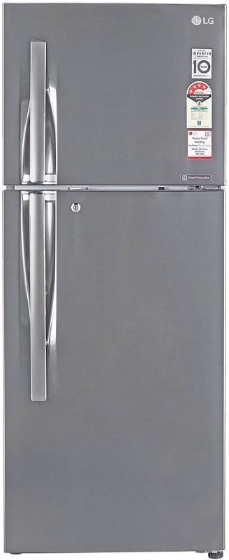 LG 260 L Frost Free Double Door 4 Star (2019) Convertible Refrigerator(Shiny Steel, GL-T292RPZN)