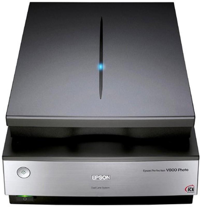 Epson Perfection Photo scanner V 800 Scanner(Grey) image