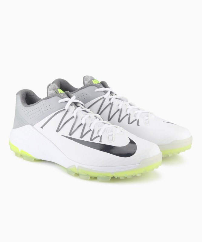Nike DOMAIN 2 NS Cricket Shoes For Men(White, Grey)