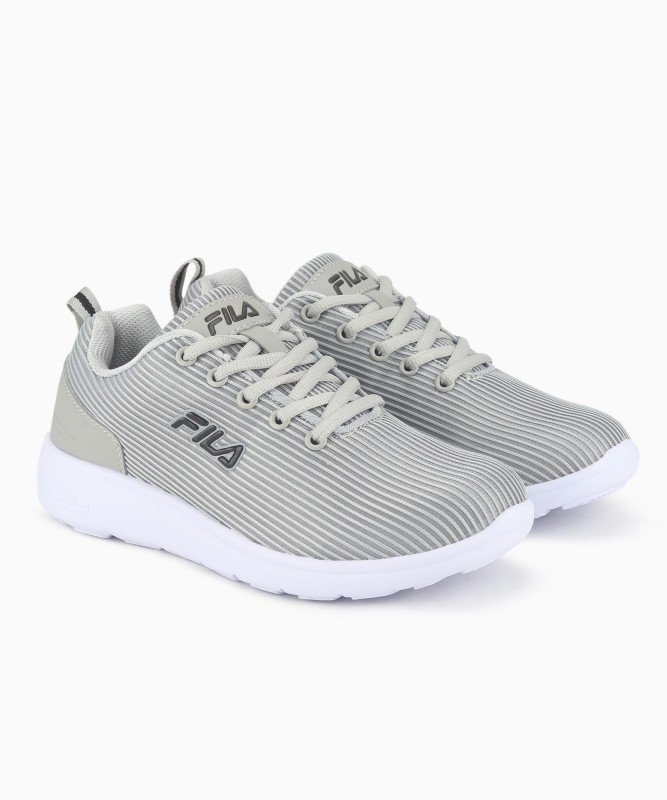 Fila YORK W Running Shoes For Women(Grey)