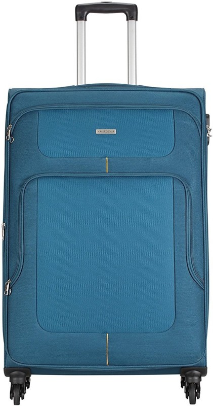 Aristocrat Cameron Expandable Cabin Luggage - 22 inch(Blue)
