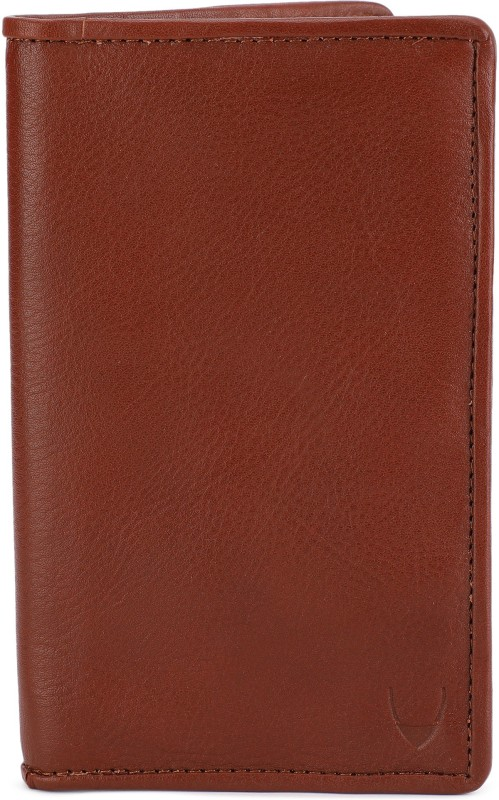 Hidesign Men Tan Genuine Leather Wallet(15 Card Slots)
