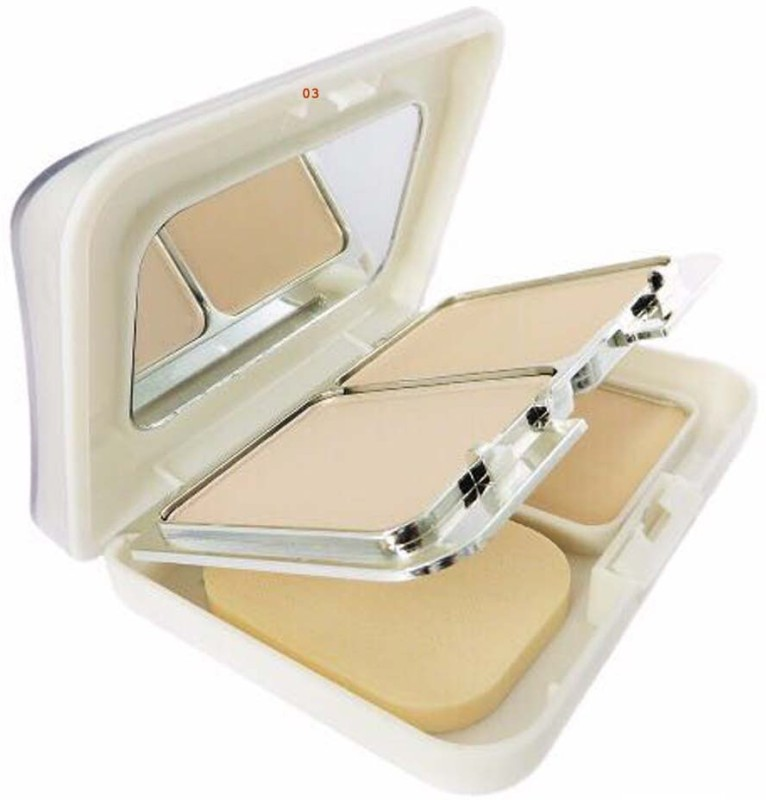 Hilary Rhoda CANDY White Radiance Powder ~ 3 In 1 Powder ~ Fantastic Color Land For A Professional Makeup Artist ~ Color-03 Compact(Beige-03, 27 g)