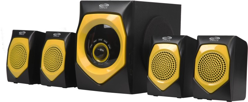 Oscar OSC-4140BT 4.1 Channel 25W Digital Display With Bluetooth,Aux Connectivity Speaker System 4.1 Home Cinema(Multimedia Home Theatre System)
