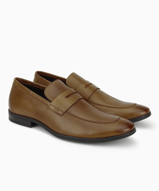 Bata TARGUS Slip On For Men(Tan)