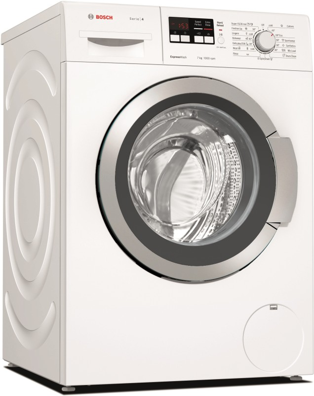 Bosch 7 kg Fully Automatic Front Load Washing Machine White(WAK20164IN)