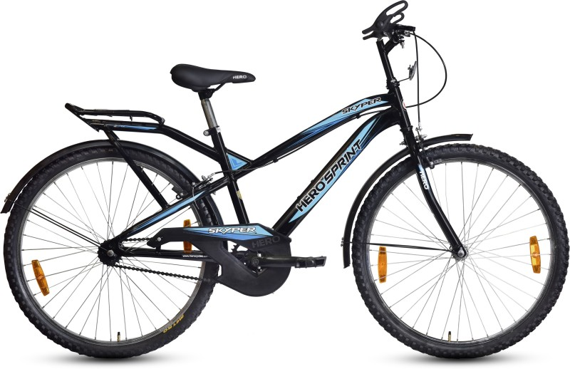 Hero Skyper 26T 26 T Mountain/Hardtail Cycle(Single Speed, Black)