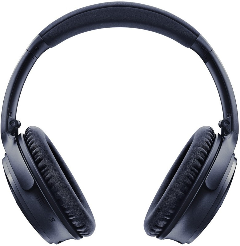Bose QuietComfort 35 II Bluetooth Headset with Mic(Triple Midnight, Over the Ear)