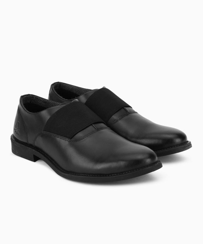 United Colors of Benetton Slip On For Men(Black)