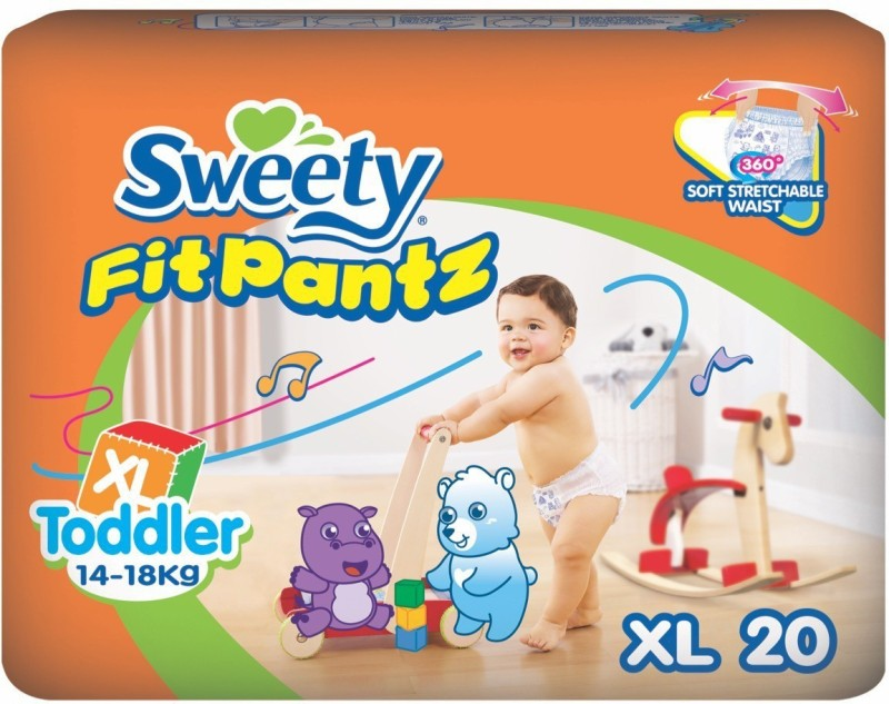 Sweety Fit Pantz SFP1003-Value Pack-XL-Count: 20 - XL(20 Pieces)