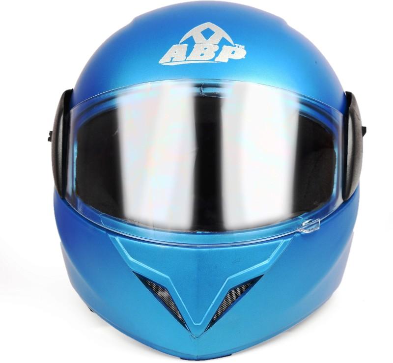ABP NITRO ISI Mark Ocean Blue Motorbike Helmet Motorbike Helmet(OCEAN BLUE)