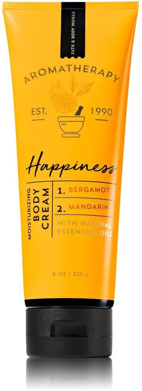Bath & Body Works AROMATHERAPY HAPPINESS BODY CREAM(236 ml)