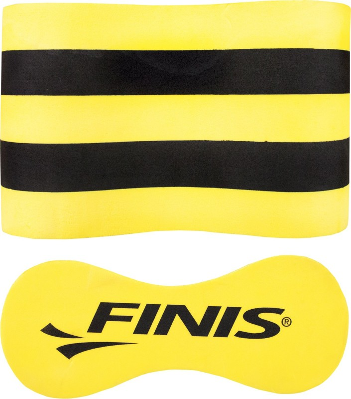 FINIS Foam Pull Buoy Jr Pull Buoy(Black, Yellow, Pack of 1)