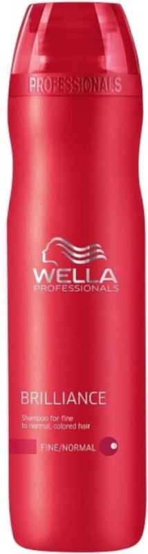 Wella Professional brilliance treatment shampoo for normal to colored hair 250ml(250 ml)