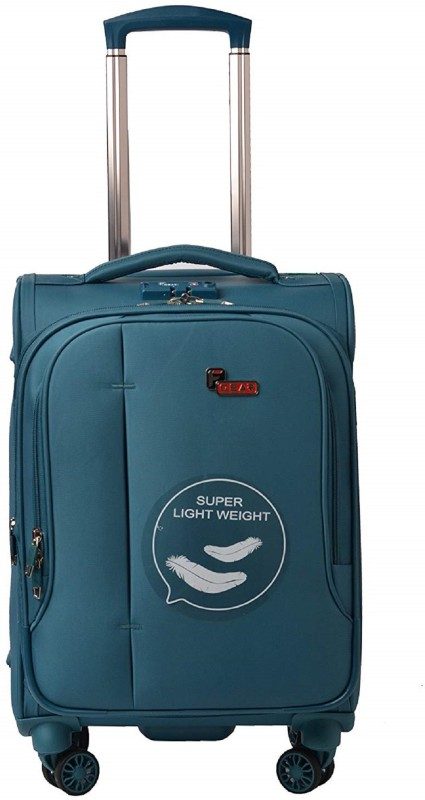 F Gear Asp Expandable Check-in Luggage - 24 inch(Blue)