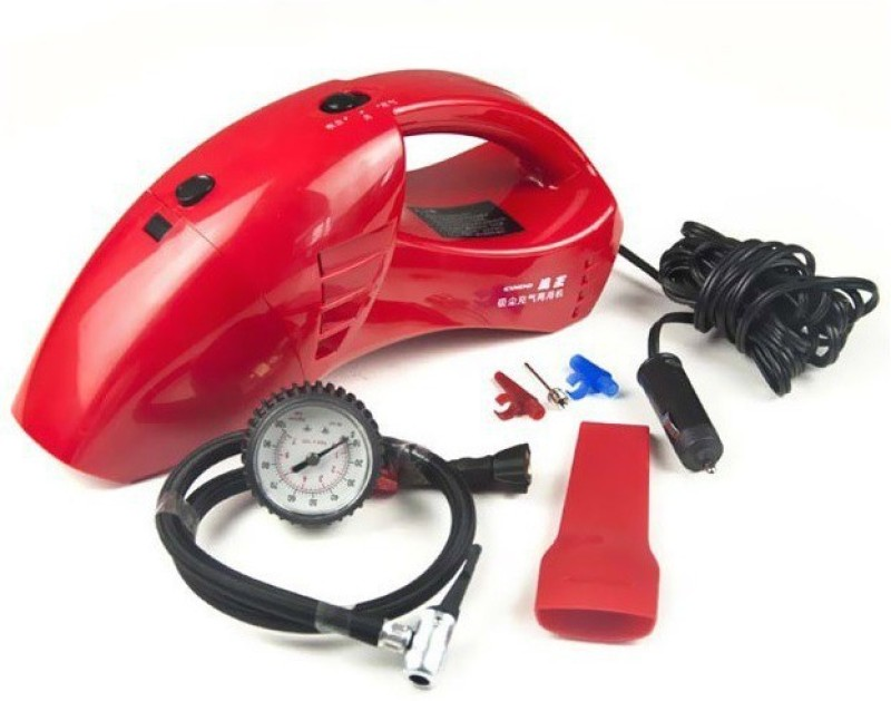Auto Hub 6023R Car Vacuum Cleaner(Red)