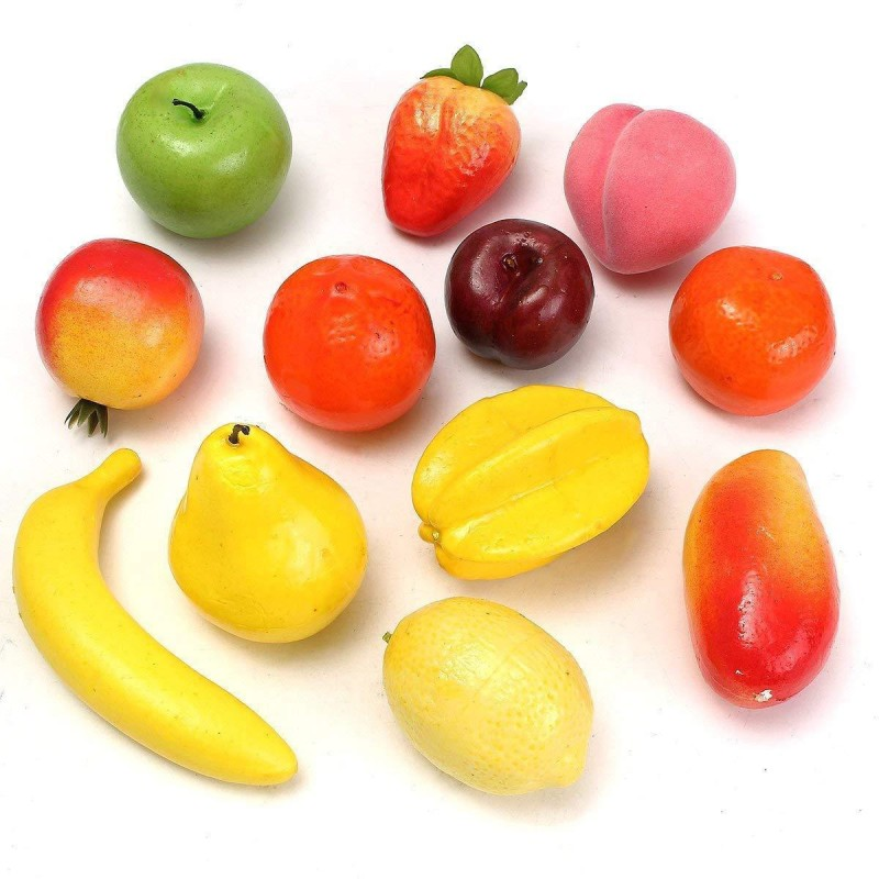 fashion hub brand FRUIT 1 Artificial Fruit(Set of 12)