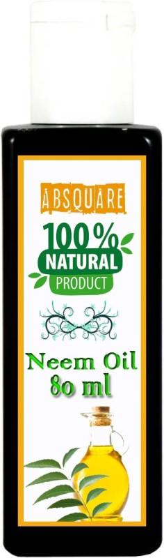 absquare Natural Neem Hair Oil in Hair oil 80 ml , ( Neem Oil for Hair Fall and Hair Growth ,Hair Fall Treatment )(80 ml)