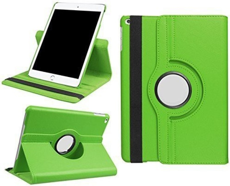 TGK Book Cover for Apple iPad 9.7 inch (2018) 6th Generation A1893, A1954 Rotating Stand Smart Flip Case(Green, Cases with Holder)