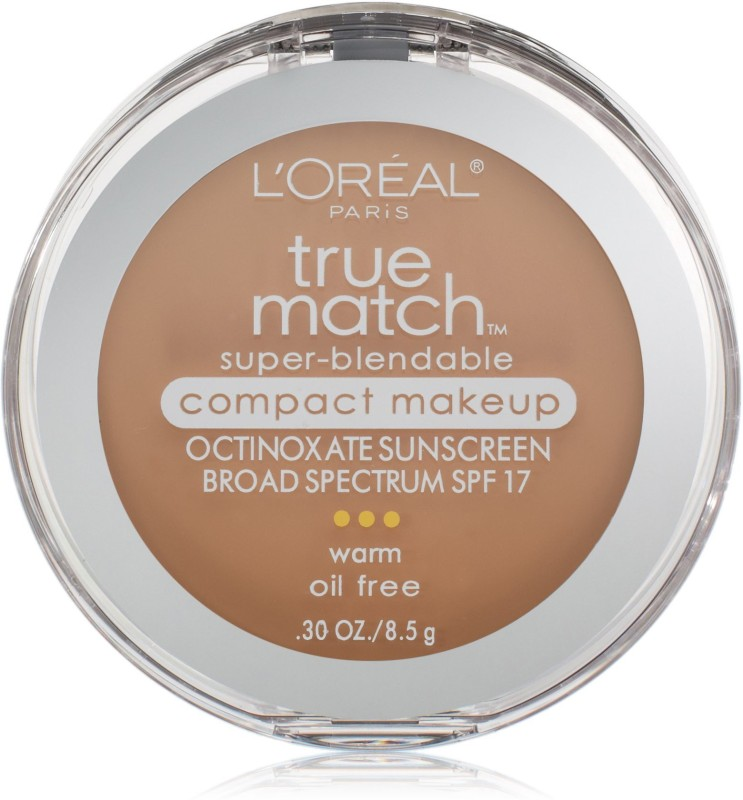LOreal True Match Super-Blendable Compact Makeup N5 True Beige Compact(True Beige, N5)