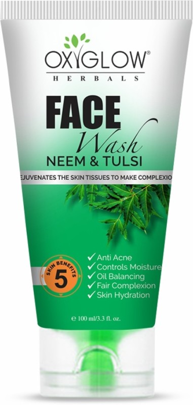 Oxyglow Neem And Tulsi Face Wash 100 ml Face Wash(100 g)