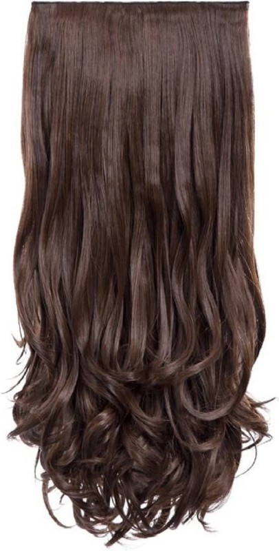 Abrish Clip in Silky Natural brown Hair Extension